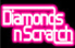diamond and scratch logo